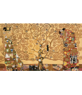 Gustav Klimt - The Tree of Life. Printing on canvas