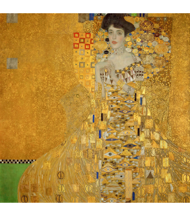 Gustav Klimt - Portrait of Adele Bloch-Bauer. Printing on canvas