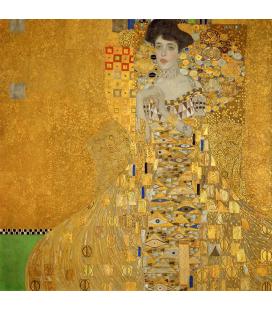 Gustav Klimt - Portrait of Adele Bloch-Bauer. Printing on canvas