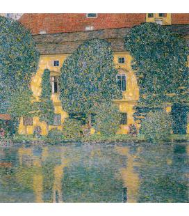 Gustav Klimt - Schloss Kammer sul lago Attersee III. Stampa su tela