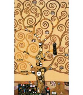 Gustav Klimt - L'albero della vita (solo). Stampa su tela