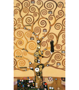 Gustav Klimt - The tree of life (only). Printing on canvas