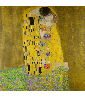 Gustav Klimt - The Kiss. Printing on canvas