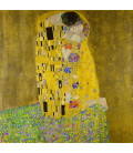 Printing on canvas: Gustav Klimt - The Kiss