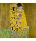 Gustav Klimt - Il Bacio. Stampa su tela
