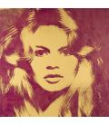 Andy Warhol - Brigitte Bardot. Stampa su tela