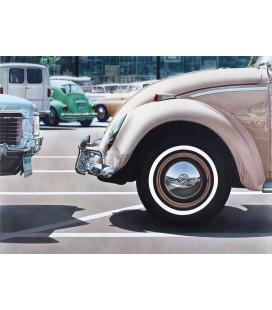 Richard Estes - Eddy. Giclèe reproduction on canvas