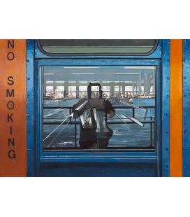 Richard Estes - Autoritratto Riproduzione giclèe su tela