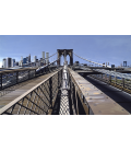 Richard Estes - Brooklyn Bridge (1993). Giclèe reproduction on canvas
