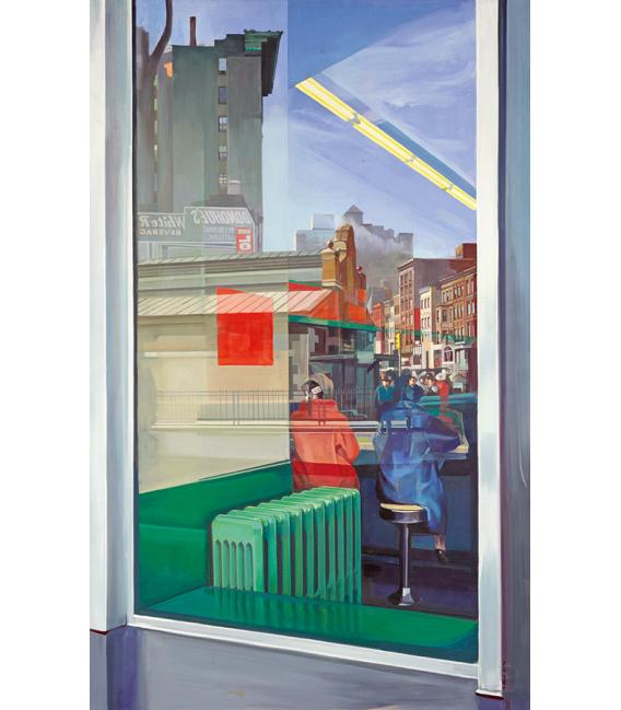 Richard Estes - Donohue's (1967). Giclèe reproduction on canvas