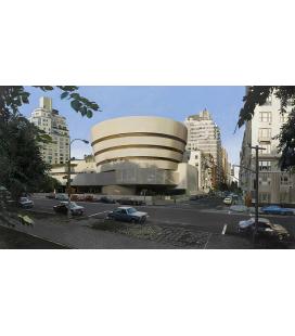 Richard Estes - The Solomon R. Guggenheim Museum. Riproduzione giclèe su tela
