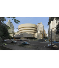 Richard Estes - The Solomon R. Guggenheim Museum. Giclèe reproduction on canvas