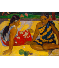 Paul Gauguin - What News (Two Tahitian Women Seats)