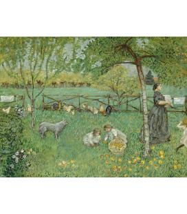 Pierre Bonnard - I Grandi Giardini. Stampa su tela