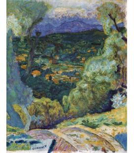 Pierre Bonnard - Arredamento del sud. Stampa su tela