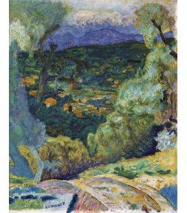 Pierre Bonnard - Southern decor. Printing on canvas
