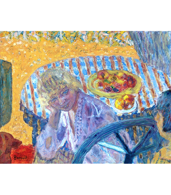 Pierre Bonnard - Portrait de Renée Monchaty. Printing on canvas