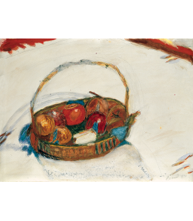 Pierre Bonnard - Basket of fruit. Printing on canvas