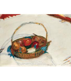 Pierre Bonnard - Cesto di Frutta. Stampa su tela