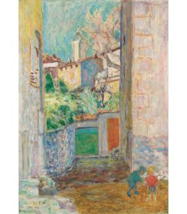 Pierre Bonnard - Vicolo cieco. Stampa su tela