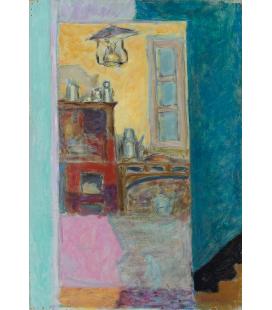 Pierre Bonnard - Cucina Piccola. Stampa su tela