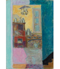 Pierre Bonnard - Small kitchen. Printing on canvas