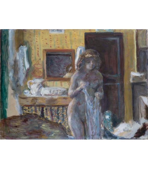 Pierre Bonnard - La toilette. Printing on canvas