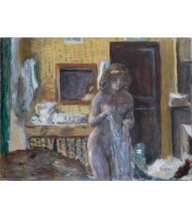 Pierre Bonnard - La toilette. Printing on canvas