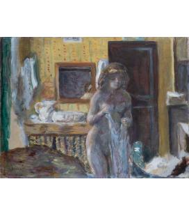Pierre Bonnard - La toilette. Stampa su tela