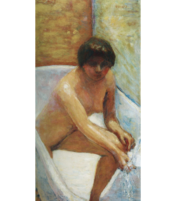 Pierre Bonnard - La Source. Printing on canvas