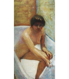 Pierre Bonnard - La Fonte. Stampa su tela