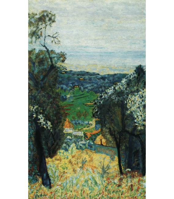 Pierre Bonnard - Landscape of Cannet . Printing on canvas