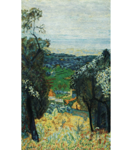 Pierre Bonnard - Landscape of Cannet . Printing on canvas