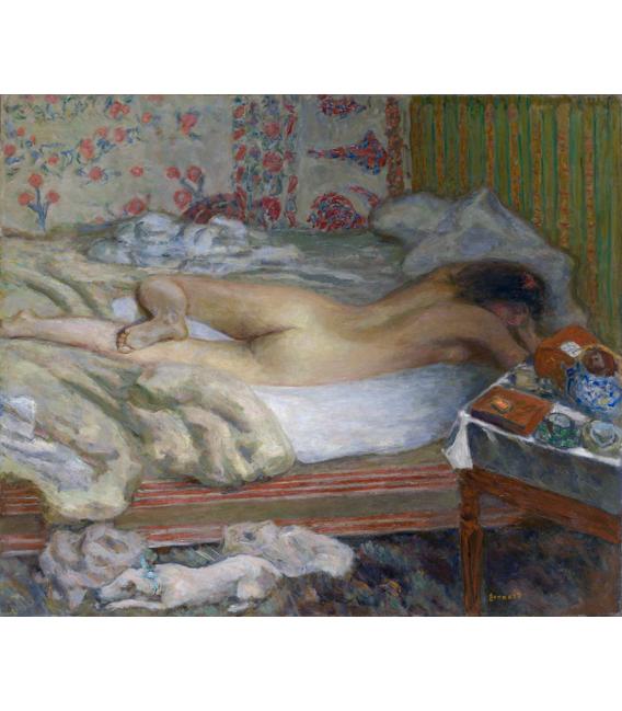 Pierre Bonnard - Siesta. Printing on canvas