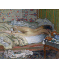 Pierre Bonnard - Siesta. Printing on canvas
