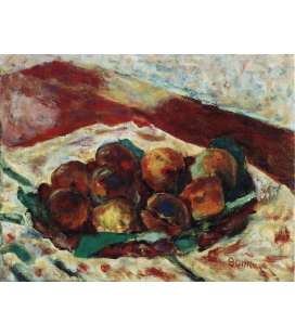 Pierre Bonnard - Peaches. Printing on canvas