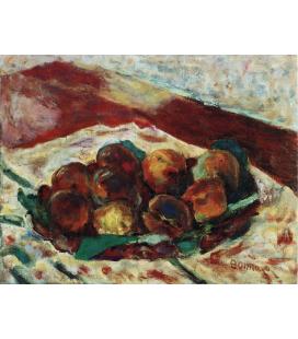 Pierre Bonnard - Riposo. Stampa su tela