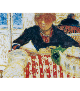Pierre Bonnard - Lo Spuntino. Stampa su tela