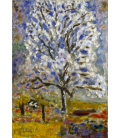 Pierre Bonnard - The Almond Tree in Blossom. Printing on canvas