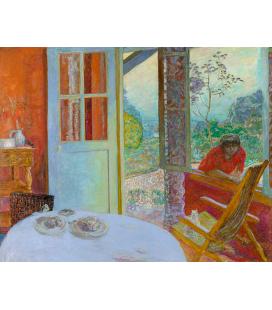 Pierre Bonnard - Sala da pranzo. Stampa su tela