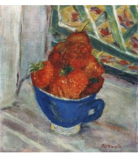 Pierre Bonnard - Fragole in una tazza. Stampa su tela