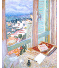 Pierre Bonnard - The Window. Printing on canvas