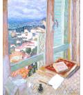 Pierre Bonnard - The Window. Printing on canvas