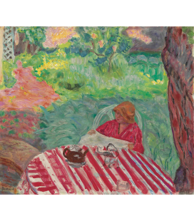 Pierre Bonnard - Under the tree. Printing on canvas