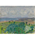 Pierre Bonnard - Seaside with landscape. Printing on canvas