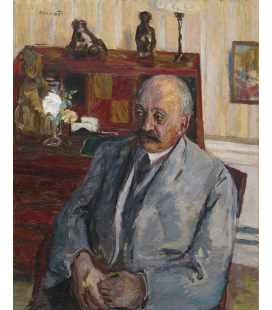Pierre Bonnard - Portrait of M. Jos Hessel. Printing on canvas