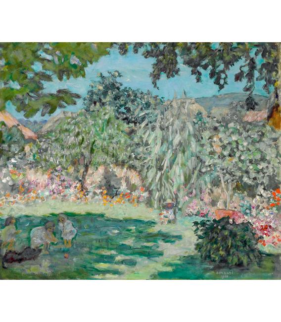 Pierre Bonnard - Garden in Dauphine. Printing on canvas