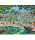 Pierre Bonnard - Garden in Dauphine. Printing on canvas