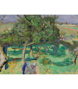 Pierre Bonnard - Landscape, Fruit Trees. Printing on canvas