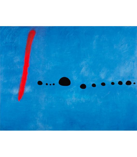 Stampa su tela: Joan Mirò - Blue